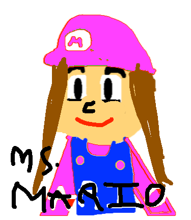 portrait mario - drawing
