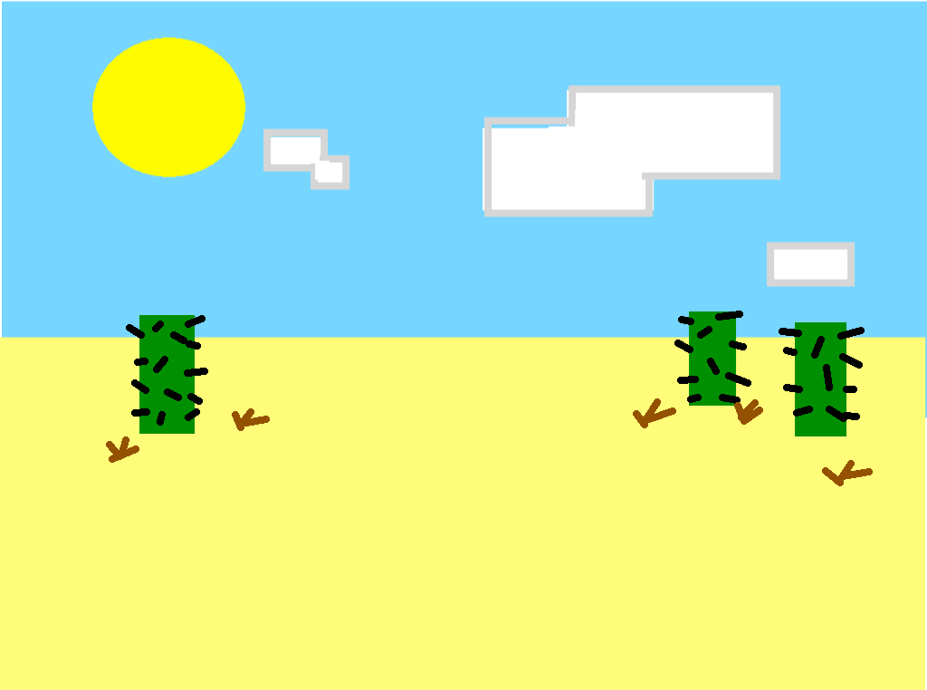 background scene - desert_day