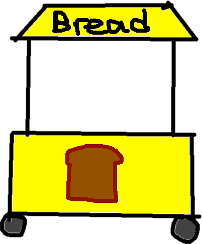 bread shop - drawing