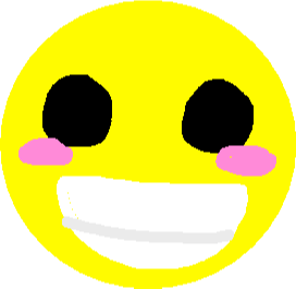 smiley sticker - drawing