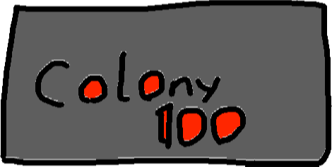 colony sign - drawing