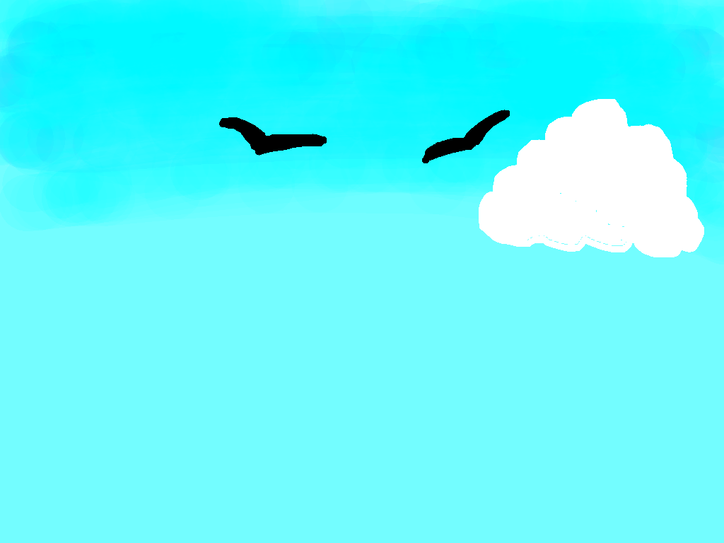 background scene - sky