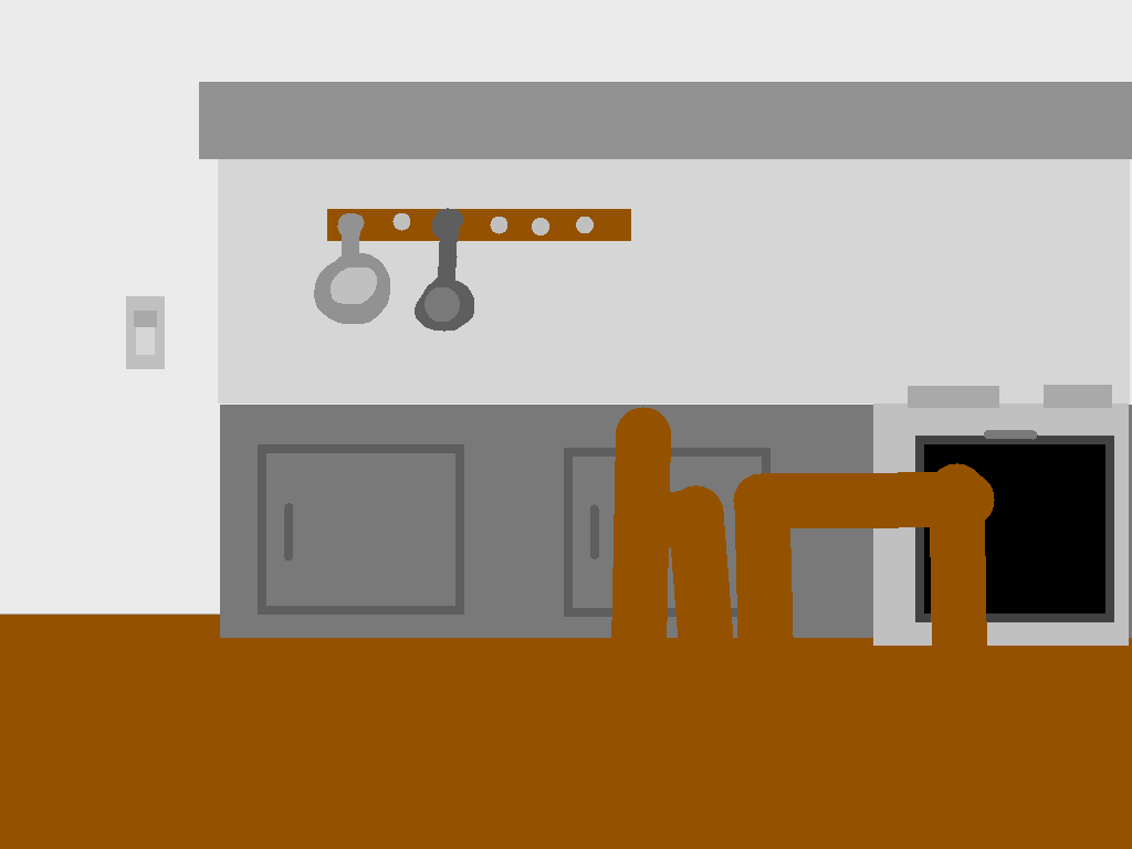 background scene - Kitchen