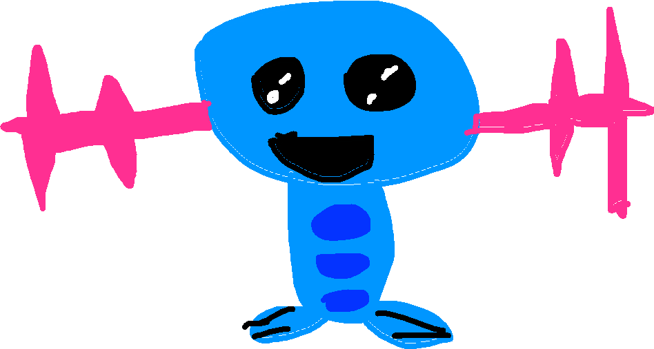 wooper - drawing