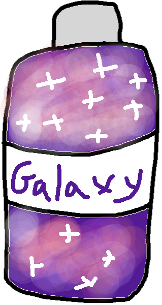 galaxy dye - drawing