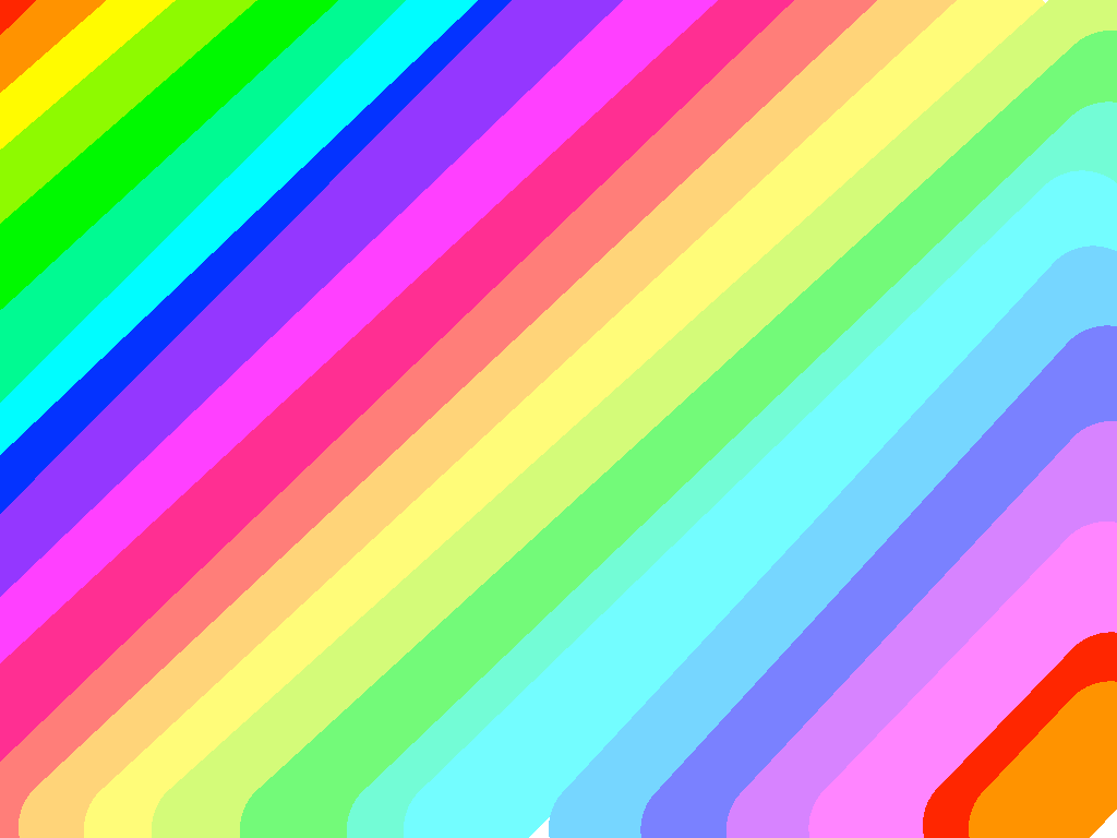 background scene - rainbow