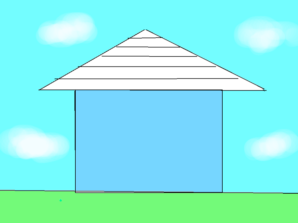 background scene - outside home