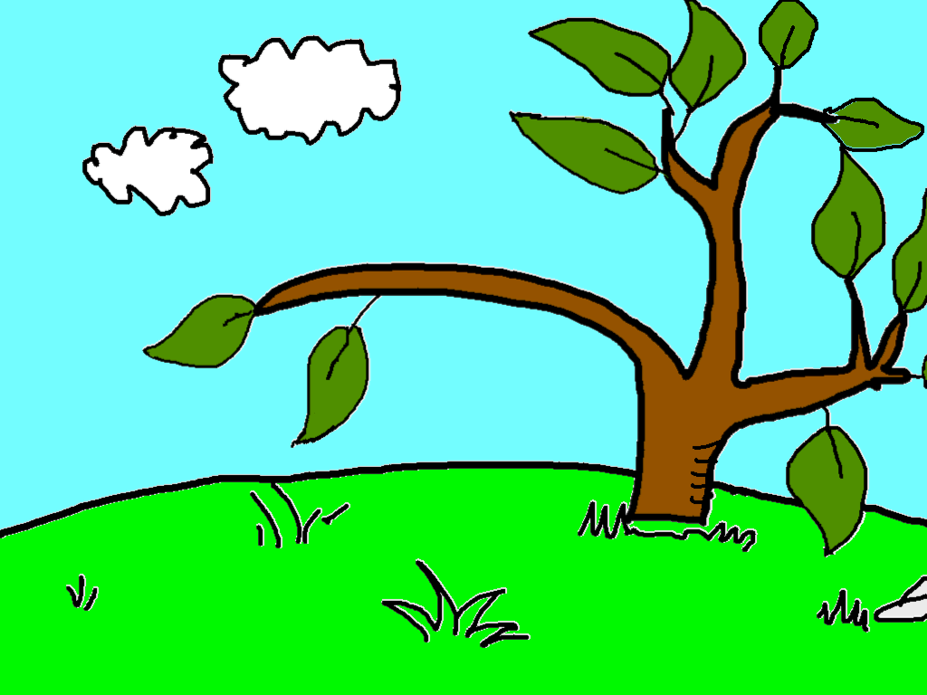 background scene - Peep And The Big Wide World Chirps tree scene