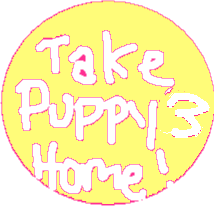 Puppy three exit button - drawing