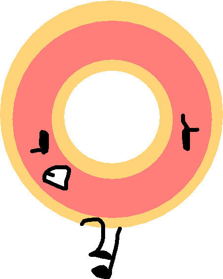 donut - drawing