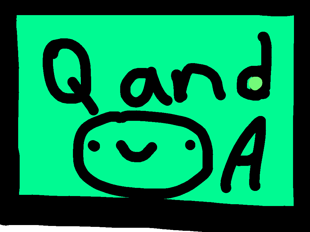 q and a - drawing