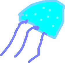 Moon Jelly - Walking1 copy