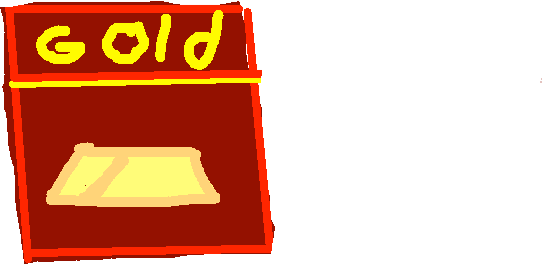gold - drawing