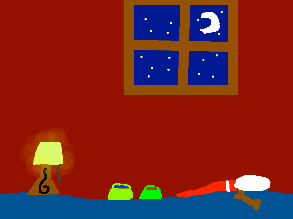 background scene - Night Time