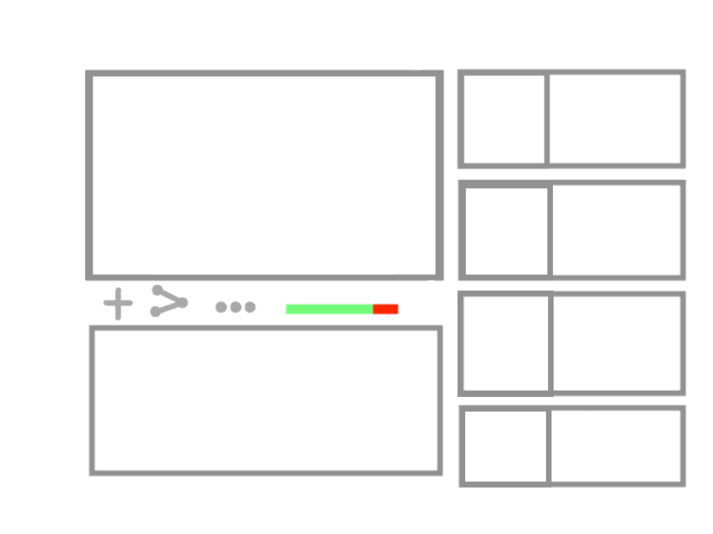 YT User Interface - drawing
