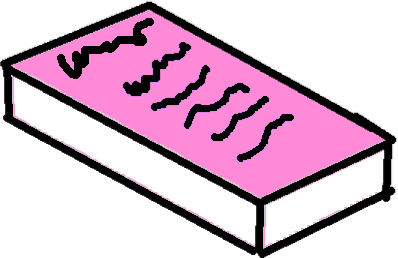 book - drawing