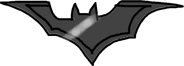 mini batarang - drawing
