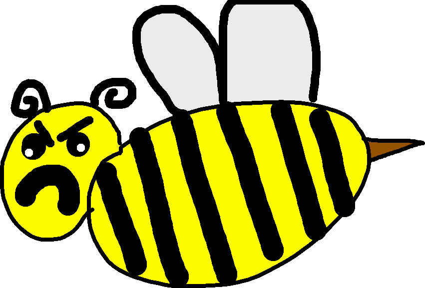 bee - drawing