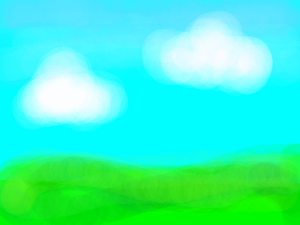 background scene - feild