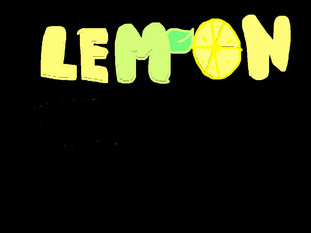 screen - lemon