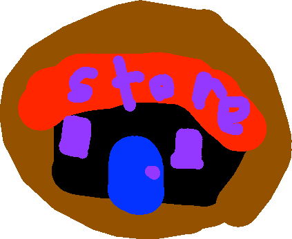 store button - drawing