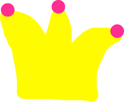 princess crown - drawing