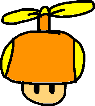 HelicopterMushWii - drawing