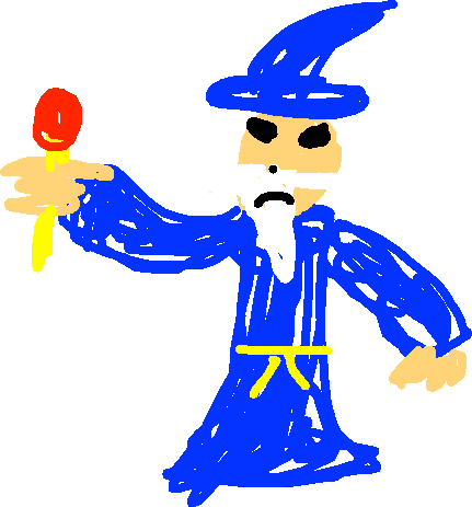 Wizard - drawing