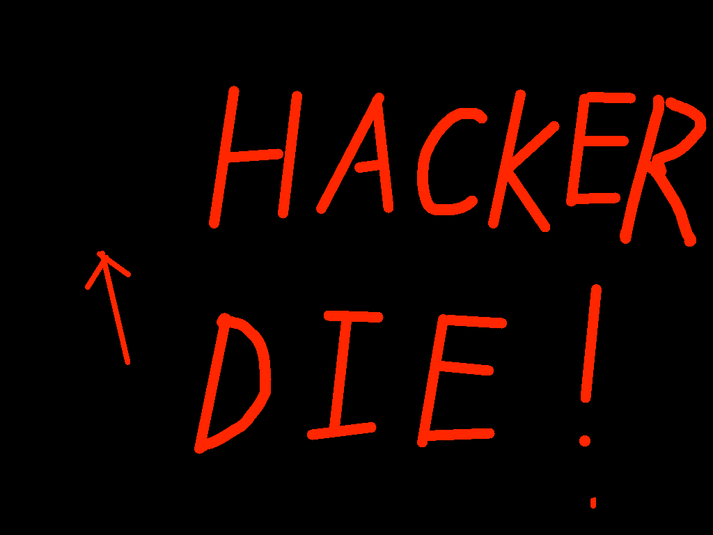 background scene - Hacker Die!