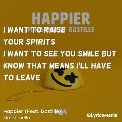 Happier marshmello lyrics 1 | Tynker