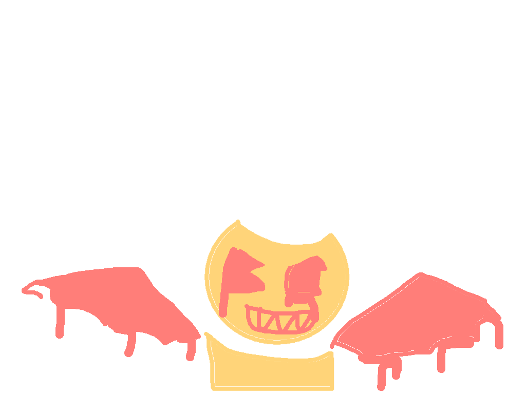 drawing - bendy flash angry