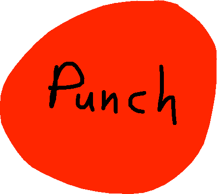 punch button - drawing
