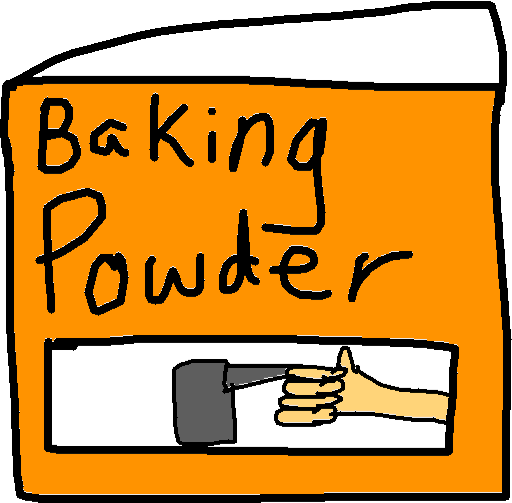 Baking Powder - *opened* copy