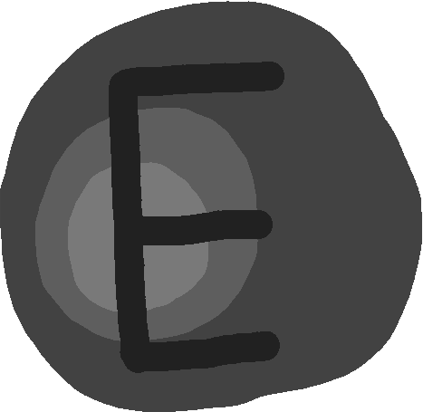 E button - drawing