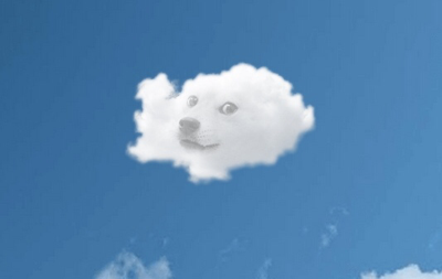 background scene - Doge Sky