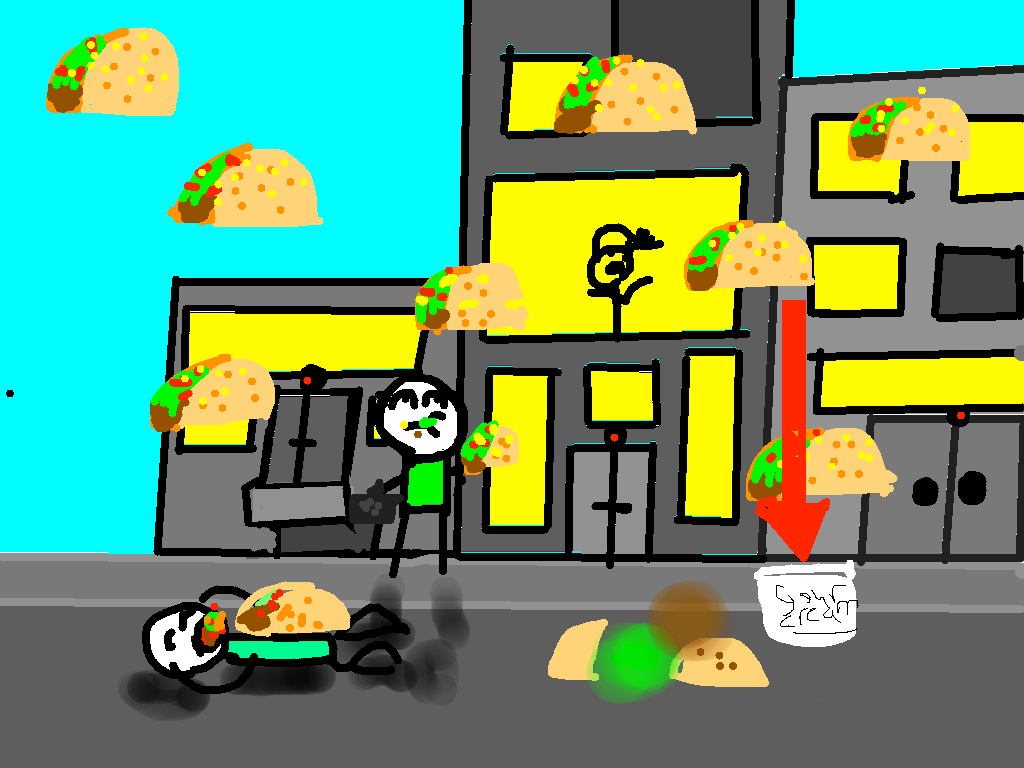 background scene - city tacos
