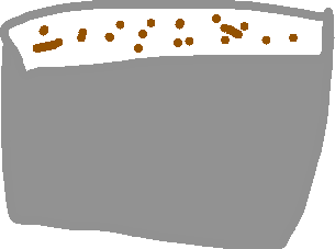 Food bowl - drawing