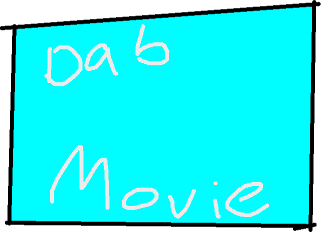Movie Button - drawing
