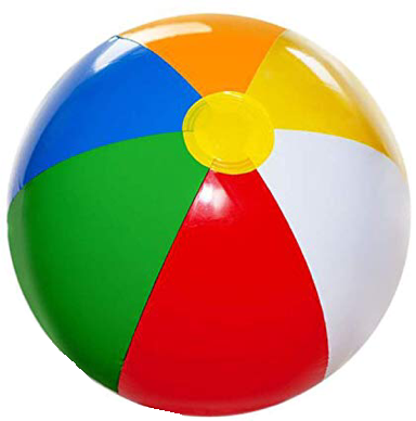 Beach ball volly - image