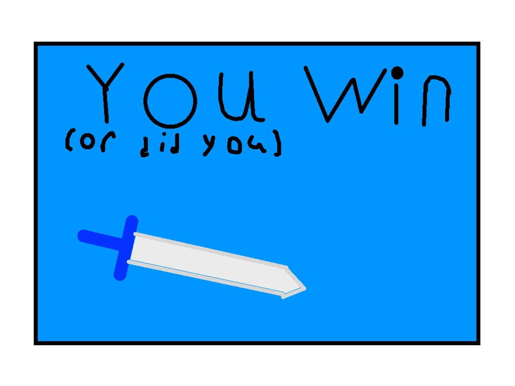 Win screen - drawing