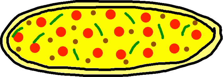 pizza - uncooked