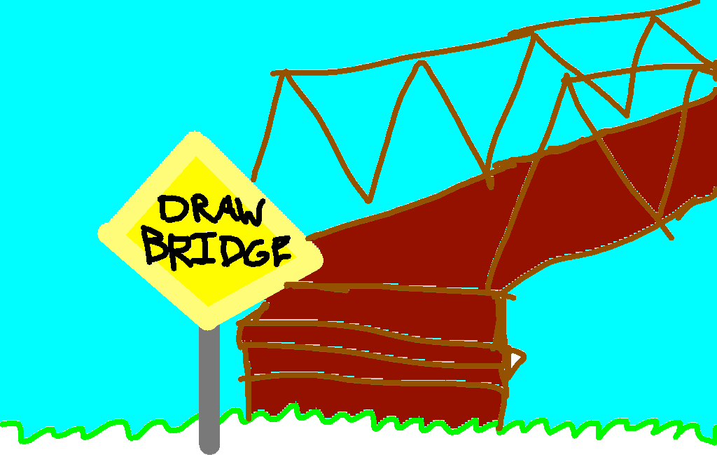 background scene - Draw Bridge