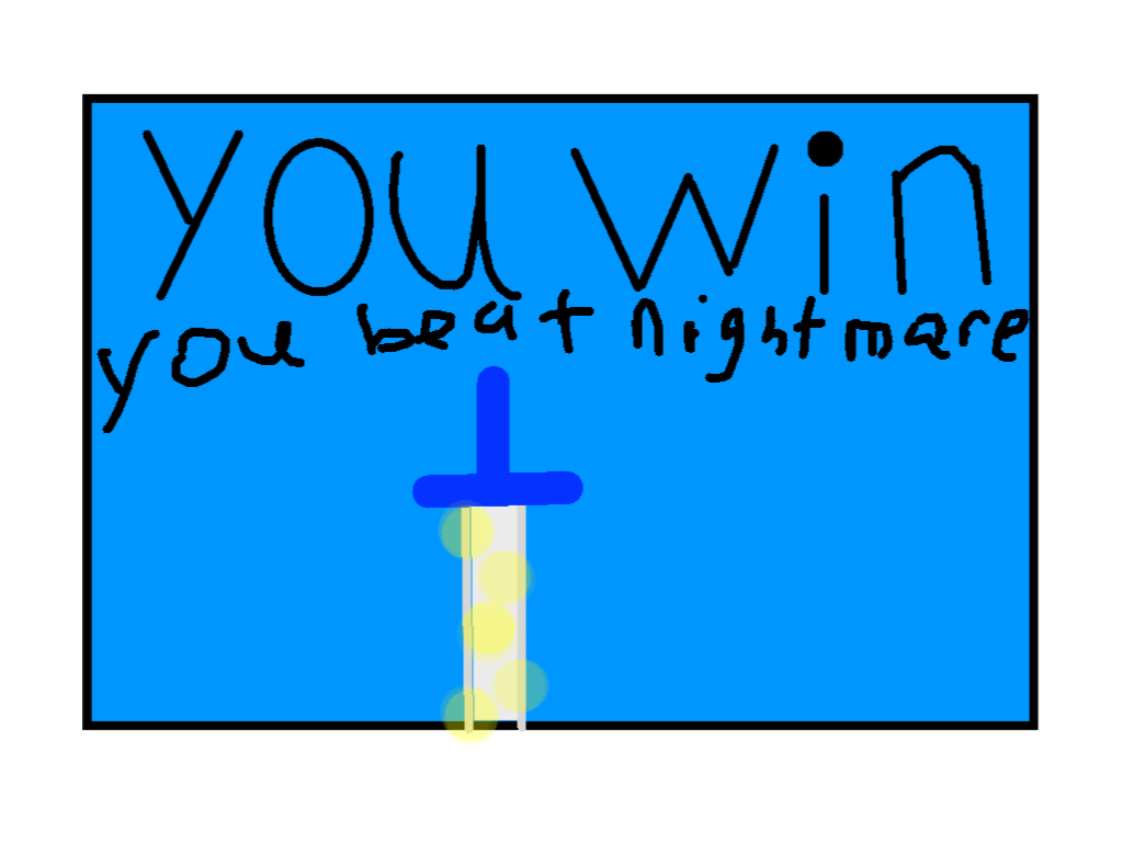 Win screen - drawing1