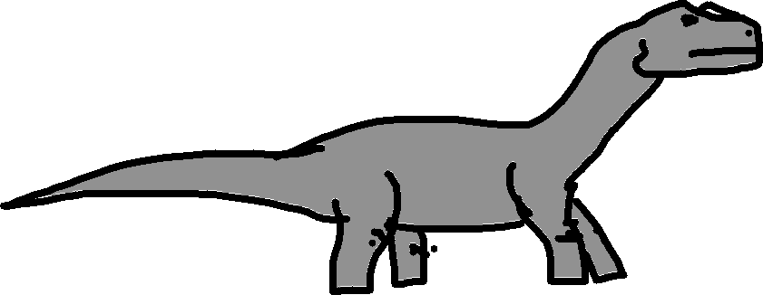 Apatosaurus - drawing