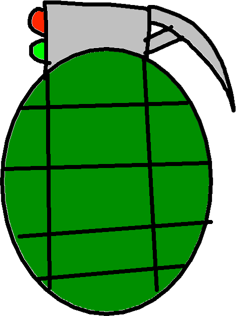 mini Grenade - drawing
