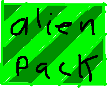alien pack - drawing