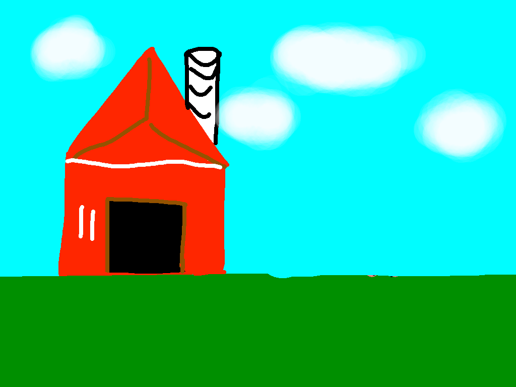 background scene - farm 1