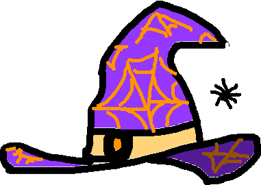 Halloween Hat - drawing