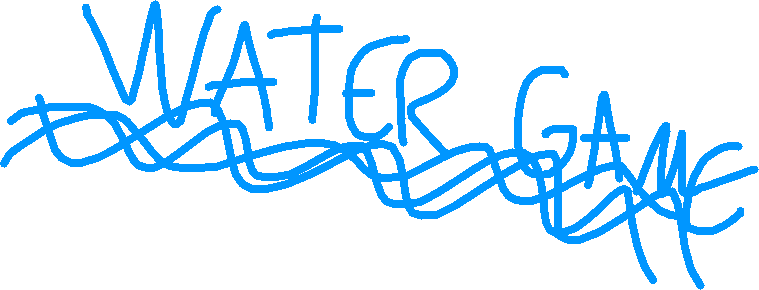 water game icon - drawing