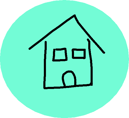 home button - drawing
